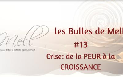 Les Bulles de Mell #13 – Crise: de la PEUR à la CROISSANCE